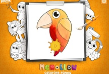 "Memollow Coloring Pages / COLORING PAGES is an app which belongs to the creative category, letting children feel free to express themselves with ""Child Friendly Interface"", multi-fingers colouring mode, magic tools and beautiful colours! 