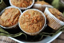 Recipes / Carrot muffins