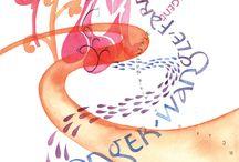 Rope of Words artwork by Lin Kerr