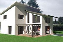 Plans de maison d'architecte / Plan de maison
