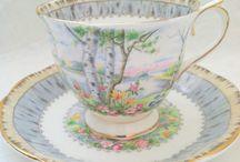 Royal albert / Silver birch china