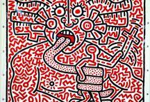 """Keith Haring / Nonostante venga spesso etichettato come un artista """"leggero"""", Keith Haring portava avanti un discorso sociale e politico di grande forza. Con l'obiettivo di condurre l'arte a contatto con più persone possibili."""