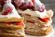 Crêpes cake