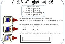 a dab of glue will do / by Penny Weiss