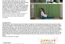 Blogg - yogatips och andra hälsotips