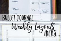 Planners / Bullet Journal