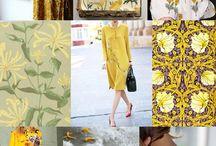Kleid mit Blumenranke