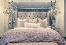 tufted headboard/wall slaapkamer
