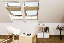 Comfort in daglicht / Comfort in daglicht wordt bereikbaar door FAKRO dakramen, lichtkoepels en platdakramen.