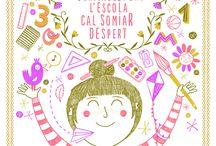 Projecte Anuari La Verema 2015 - Experts Il·lustradors / Espai de treball i inspiració dels experts en il·lustració del projecte Anuari La verema 2015, de l'alumnat de 1r d'ESO de l'Institut-Escola Les Vinyes