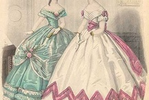 1860' ball gown