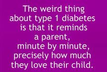 My daughter with T1D / by K Schwe