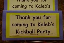 kickball party / by Christy Bobay