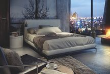 Luxery, calm Bedroom style