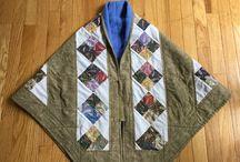 Quilt shawl