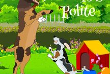 Dobee's Adventures. / Dobee is an Australian herding dog.  He was born in America and then continued on with his adventure to many places in Europe.  These books are written for children and dog lovers around the world:-)