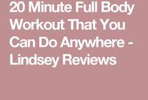 20 min exerciții