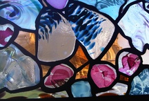 Stained Glass / All these stained glass pieces were handmade in the Bath Aqua Glass studio located in the centre of the historic City of Bath.
