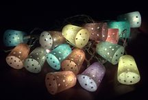 Decorative lights - Polymer clay