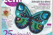 Červnová Praktická žena   June 2014 / Nové číslo kreativního časopisu   New issue creative magazine Praktická žena