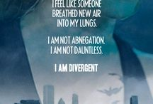 Divergent / Be Brave Tris! ~ And don't be a pansycake!