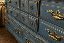 napoleon blue chalk paint
