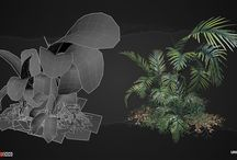 Game Art - Enviro - Realistic - Foliage