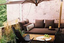 the patio / by Katty