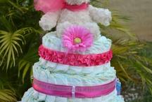 Baby Girl Bling Diaper Cake