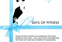 12 Days of Fitness with Physique 57 / CLOSED SWEEPSTAKES - We're getting festive on Facebook with our 12 Days of Fitness Sweepstakes! Start winning daily prizes today through 12/21. #12DaysPhysique57 / by Physique 57