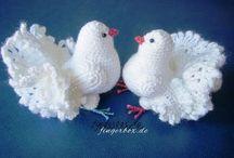 witte duiven haken