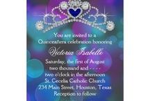 XV invitaciones