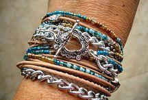 boho bracelets / by tammera saglimbene