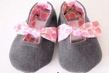 Baby shoes / Zapatitos bebé / Tutoriales para hacer zapatitos para bebés preandantes