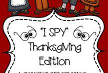 November Speech therapy ideas