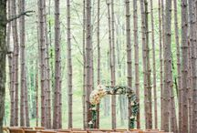 F O R E S T E D / W E D D I N G S / Forested & Woodland Wedding Inspiration for brides, brides-to-be, and grooms.