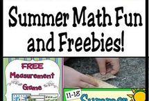 Summer Learning / Ideas, activities, and resources that will keep the learning going , whether  you teach in a year-round school, summer school, or alternative calendar.  Great ideas here for summer school and homeschoolers, too!