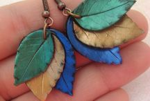 polymeric clay earrings
