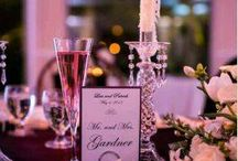Wedding Center Pieces / Beautiful centerpieces we have had at The Loge at Mountain Springs Lake Resort