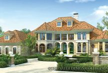Estate House Plans - The Sater Design Collection / Luxury style home plans have become synonymous with the Sater Design Collection name. These estate home plans with over 3800 square feet are a reflection of all that is best about luxury living.
