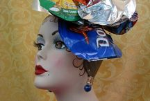 Recycled hats