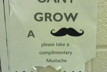 movember / Image pour la solidarité pour soutenir les hommes contre le cancer