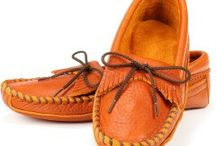 Handmade Moccasins / All of these are handmade right here in the USA. Made with the best leather and with comfort in mind.