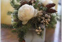 X-mas Ideas / Galeria inspiracji: dekoracje i kompozycje kwiatowe na Boze Narodzenie