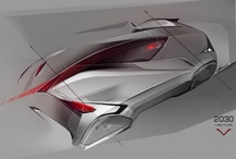 Transportation design_renderings+sketches