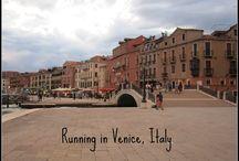 Running the World / Traveling and running around the world.