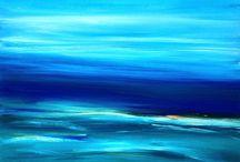 Coastline (40 x 29cm) / Australian Coastline Series Fits into 50 x 50cm box frame (mount 30 x 30cm)  All art is copyright