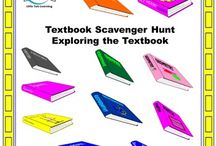 Textbook Scavenger Hunt / Textbook Scavenger Hunt. Textbook Scavenger Hunt is a GREAT way to introduce textbook features at the beginning of the year. This scavenger hunt is designed to be used with any textbook, and is not grade specific. Students can work individually or in groups to explore their textbook.
