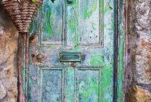 Doors to the..