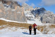 Dolomitas con Raquetas / Rutas con raquetas de nieve en Dolomitas